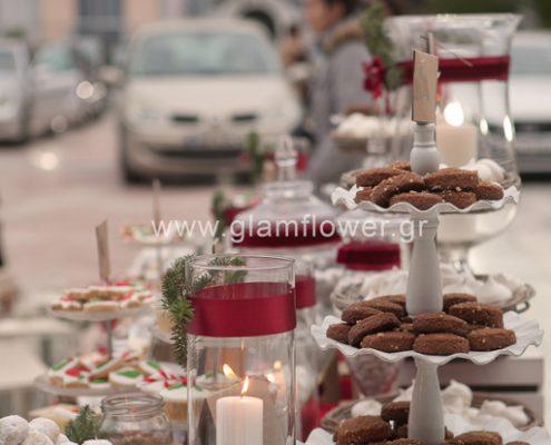 Στολισμός γάμου Χριστούγεννα