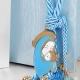 Δώρο για νεογέννητο γούρι Παναγία σιέλ