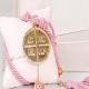 Δώρο για νεογέννητο γούρι μαξιλάρι με Κωνσταντινάτο