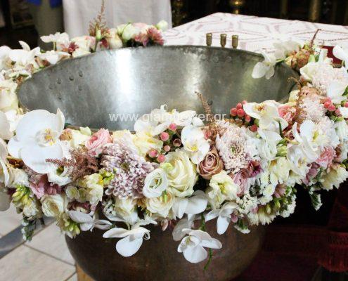 Βάπτιση ρομαντική στην Αγία Μαρίνα Ρεντίνας