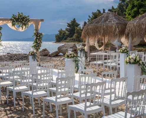 Beach wedding in Halkidiki