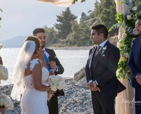 Beach wedding in Halkidiki