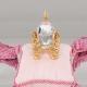 Δώρο για νεογέννητο άμαξα σε μαξιλάρι