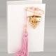 Δώρο για νεογέννητο παραμάνα φυλαχτό ροζ
